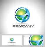 Gebied Logo Design Stock Afbeeldingen