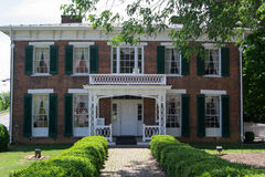 Gebied-Penn 1860 Huis/Museum Abingdon, Virginia Royalty-vrije Stock Afbeeldingen