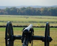 Gebied van de Last van Pickett - Gettysburg-Slagveld Stock Afbeelding