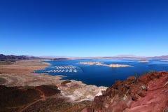 Gebied van de Recreatie van de Weide van het meer het Nationale stock foto's