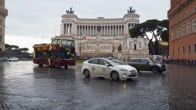 Gebied van Venetië in Rome Italië stock footage