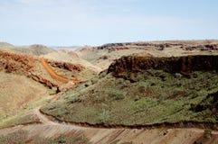 Gebied voor Mijnbouwexploratie - Pilbara - Australië Royalty-vrije Stock Afbeeldingen