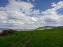 Gebieden in Armenië stock foto
