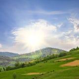 Gebieden in bergen Stock Foto's