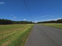 Gebieden langs een landweg Royalty-vrije Stock Foto's