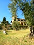 Gebieden rond de oude villa Royalty-vrije Stock Afbeelding