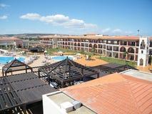 Gebieds in hotel ben Levende Saidia, Maroc Royalty-vrije Stock Foto's