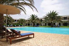 Gebieds van hotel Dunas del Sal, eilandzout Royalty-vrije Stock Fotografie