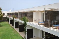 Gebieds van hotel Dunas del Sal, eilandzout Stock Afbeeldingen