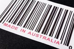 Gebildet in Australien lizenzfreie stockbilder