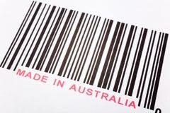 Gebildet in Australien lizenzfreies stockbild