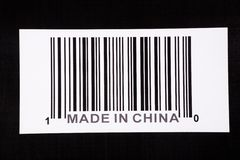Gebildet in China lizenzfreie stockfotografie