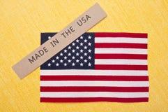 Gebildet in den USA stockbild