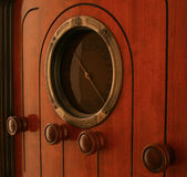 Gebildet durch GE 1930 behält dieser Vakuumgefäßfunk noch seine Wärme bei Lizenzfreies Stockfoto