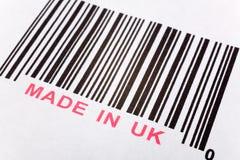 Gebildet in Großbritannien stockbilder