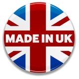 Gebildet in Großbritannien Lizenzfreie Stockfotos