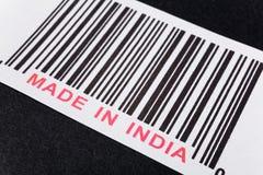 Gebildet in Indien lizenzfreies stockbild