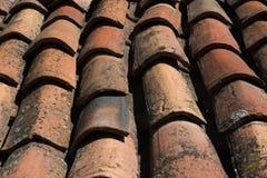 Gebildet, um einem alten hölzernen Dach zu ähneln Stockfotografie