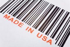 Gebildet in USA lizenzfreie stockfotografie