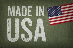 Gebildet in USA stockfotografie