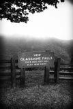 Gebirgsausblick naher Berg Mitchell-Nationalpark Stockfotografie