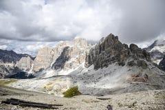 Gebirgsdolomit in Italien, Sommerzeit Lizenzfreie Stockfotos