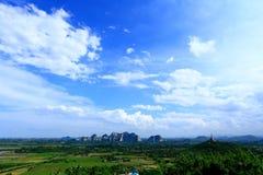 Gebirgsfelsen-Park Khao Ngu Lizenzfreies Stockfoto