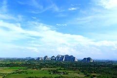 Gebirgsfelsen-Park Khao Ngu Stockfoto