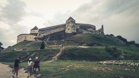 Gebirgsferien Rumänien lizenzfreie stockfotografie