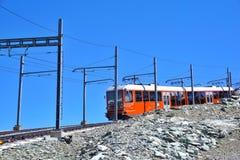 Gebirgsgestell zu Matterhorn, die Schweiz stockfotografie
