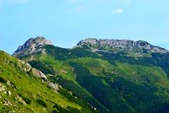 Gebirgshintergrund, Tatra-Berge, Polen Stockbilder