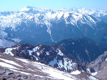 Gebirgshintergrund, Tatra-Berge, Polen Lizenzfreie Stockfotos