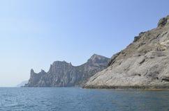 Gebirgsküste von Krim Stockfotografie