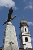 Gebirgskirche Stockbild