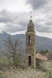 Gebirgskirche im Apennines stockfotos