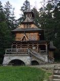 Gebirgskirche in Zakopane in Polen lizenzfreies stockfoto