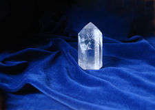 Gebirgskristall Stockbild