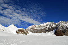 Gebirgslandschaft in Alaska Stockbild