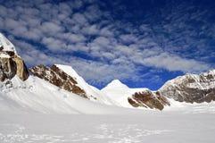 Gebirgslandschaft in Alaska Lizenzfreies Stockbild