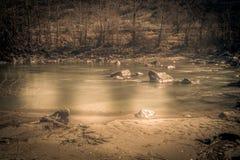 Gebirgslandschaft, Bergpanorama Lizenzfreies Stockbild