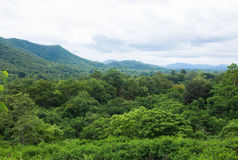 Gebirgslandschaft in Chiangmai Thailand Lizenzfreie Stockfotos