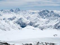 Gebirgslandschaft Kaukasus stockfotografie