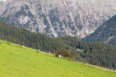 Gebirgslandschaft in Norditalien Stockbilder