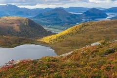 Gebirgslandschaft, Norwegen Stockbild