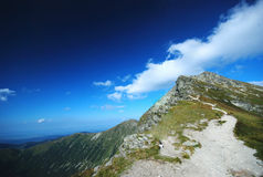 Gebirgslandschaft in Slowakei lizenzfreie stockfotografie