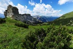 Gebirgslandschaft von Karwendel, Achensee-Bereich, Achensee, Tirol, Österreich Lizenzfreie Stockfotografie