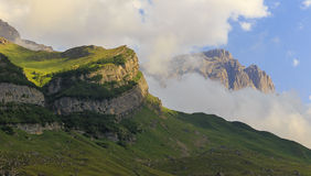 Gebirgsnationalpark Shahdag (Aserbaidschan) Lizenzfreies Stockbild