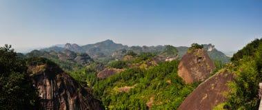 Wuyishan stockfotos
