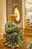 Gebirgsnaturschutzgebiet Lingshan Vatikan Lingshan Buddha Palast-Tierkreis Stockbilder