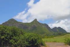 Gebirgsrücken Moka Port Louis, Mauritius lizenzfreie stockfotos